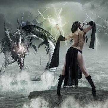 La sorcière et le dragon